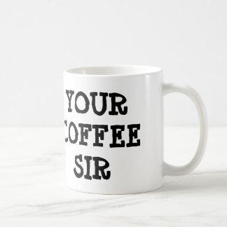 SU taza del SIR café del CAFÉ
