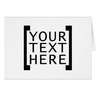 su texto aquí divertido hace publicidad del tarjeta de felicitación
