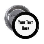 Su texto aquí ennegrece el botón del personalizado pins