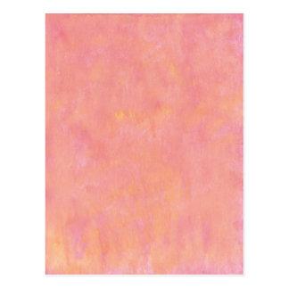 Su texto aquí: Fondo rosado del melocotón Postal