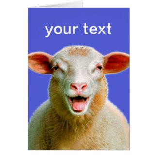 su texto aquí tarjeta de felicitación