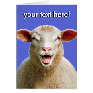 ¡su texto aquí! tarjeta de felicitación