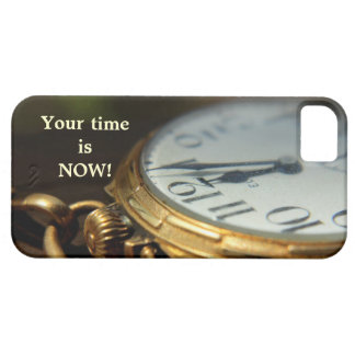 su tiempo ahora es caso del iPhone iPhone 5 Protector