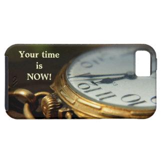 su tiempo ahora es caso del iPhone iPhone 5 Fundas