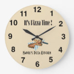Su tiempo de la pizza - reloj de Palor de la pizza