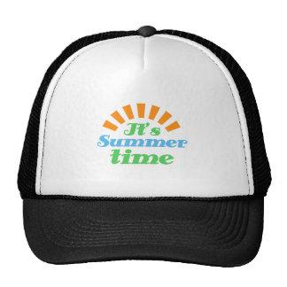 Su tiempo de verano gorro