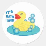 Su tiempo del baño