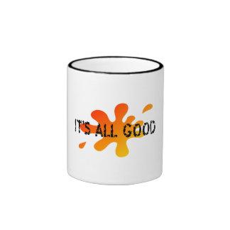 Su toda la buena taza