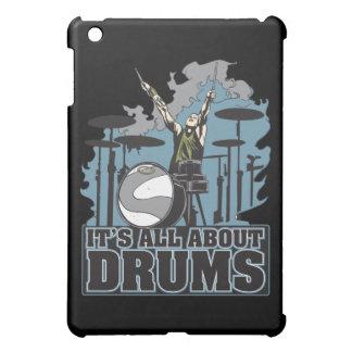 Su todo alrededor caja de los tambores para el iPa