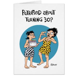 Su trigésima tarjeta de felicitación del cumpleaño