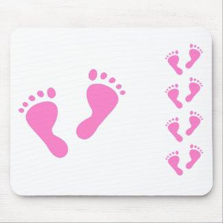 Su un chica - fiesta de bienvenida al bebé, recién tapetes de ratón