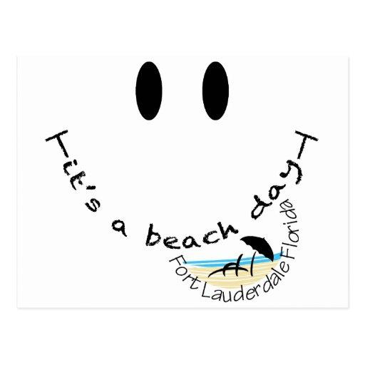 Su un día de la playa - Fort Lauderdale, la Postal