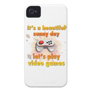 Su un día hermoso - juguemos a los videojuegos carcasa para iPhone 4 de Case-Mate