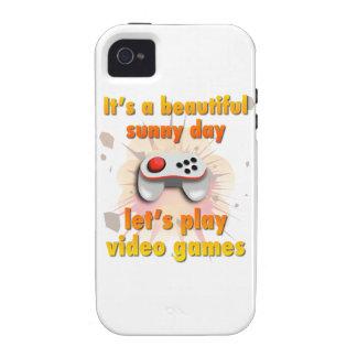 Su un día hermoso - juguemos a los videojuegos funda iPhone 4