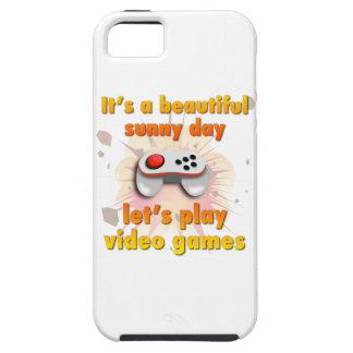 Su un día hermoso - juguemos a los videojuegos iPhone 5 carcasas