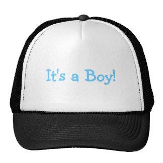 Su un muchacho (azul) gorras de camionero