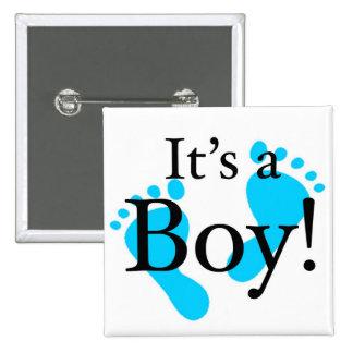 Su un muchacho - bebé, recién nacido, celebración pin