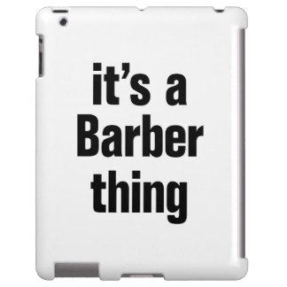 su un peluquero tihing funda para iPad