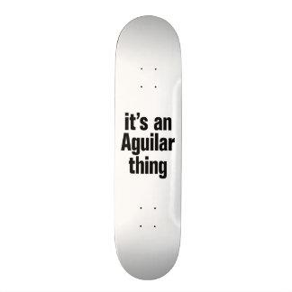 su una cosa anguilar tablas de skate