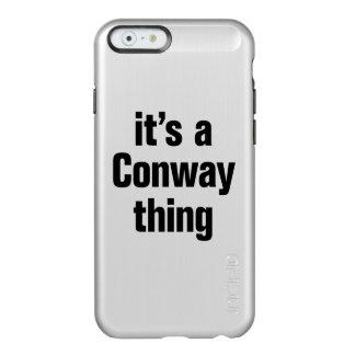 su una cosa conway funda para iPhone 6 plus incipio feather shine