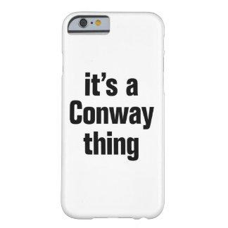 su una cosa conway funda para iPhone 6 barely there