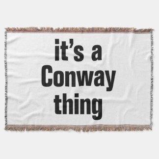 su una cosa conway manta