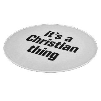 su una cosa cristiana tablas de cortar