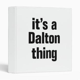 su una cosa de Dalton Carpeta 2,5 Cm