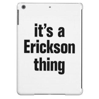 su una cosa de erickson funda para iPad air