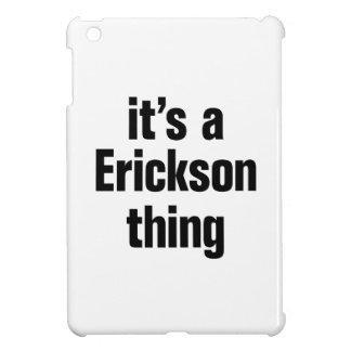 su una cosa de erickson