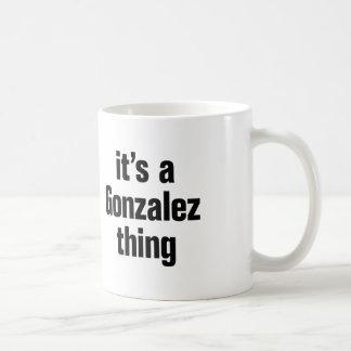su una cosa de Gonzalez Taza Clásica