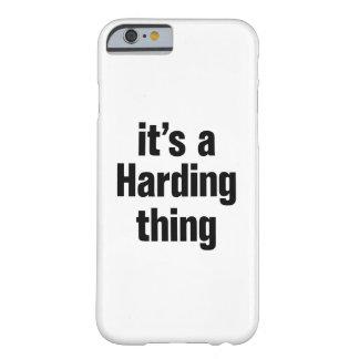 su una cosa de harding funda para iPhone 6 barely there