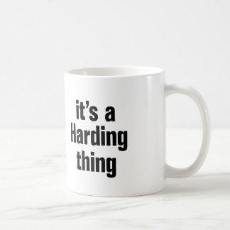 su una cosa de harding taza clásica