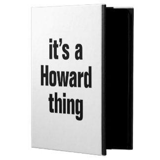 su una cosa de howard