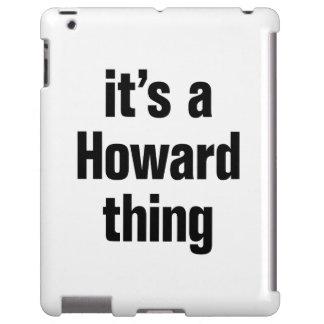 su una cosa de howard funda para iPad