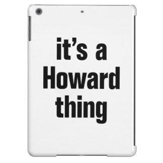su una cosa de howard funda para iPad air