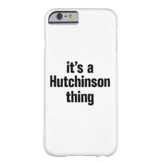 su una cosa de hutchinson funda barely there iPhone 6