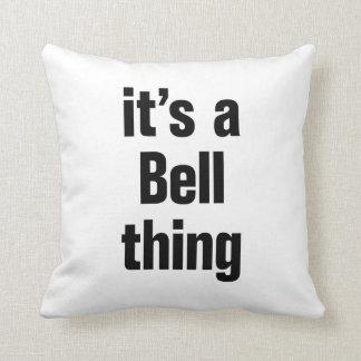 su una cosa de la campana almohada