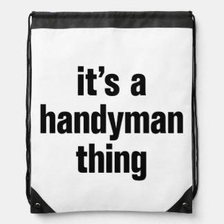 su una cosa de la manitas mochilas