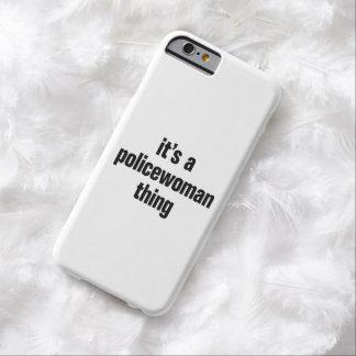 su una cosa de la mujer policía funda de iPhone 6 barely there