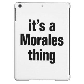 su una cosa de las morales funda para iPad air