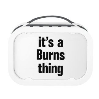 su una cosa de las quemaduras