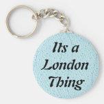 Su una cosa de Londres Llaveros