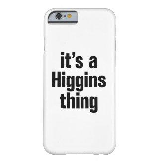 su una cosa de los higgins funda de iPhone 6 barely there