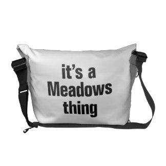 su una cosa de los prados bolsas messenger