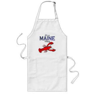 Su una cosa de Maine - langosta Delantal