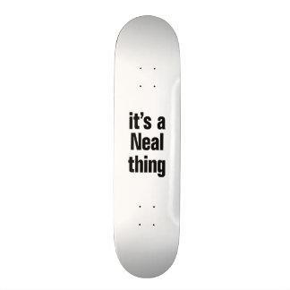 su una cosa de Neal Skate Board