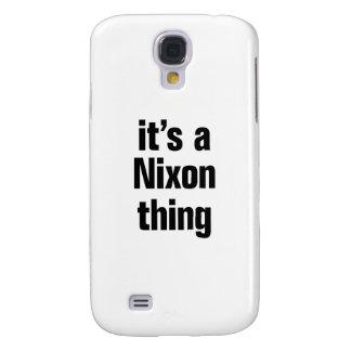 su una cosa de nixon funda para galaxy s4