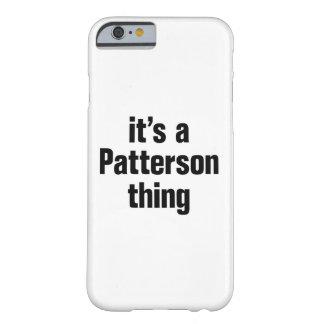 su una cosa de patterson funda de iPhone 6 barely there