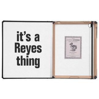 su una cosa de Reyes iPad Carcasas